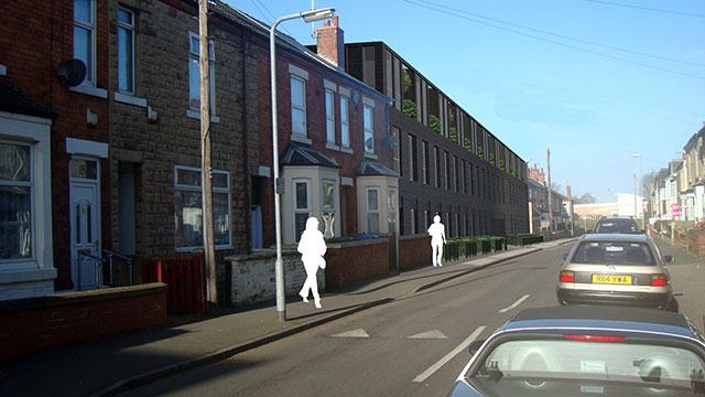 Burns Street, Mansfield